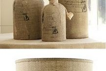 Burlap and Brown Paper / by Serendipity Refined .