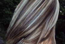 Blonde and Dark Foils