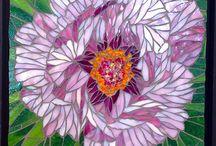 Mosaics - flowers