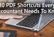Keyboard shortcuts / PDF + Excel + Windows - Keyboard shortcuts for accountants & CPAs!