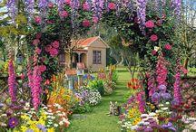 Cottage Garden / Cottage Garden Inspiration