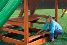 Kids outdoor equipment / by Cathy Shank