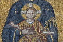 Icon, mosaic, paintings