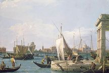 Venetian painter: Canaletto / Giovanni Antonio Canal (17 or 18 October 1697 – 19 April 1768) better known as Canaletto, was an Italian painter of landscapes, or vedute, of Venice. He was also an important printmaker in etching.