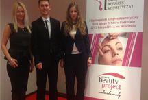 Ogólnopolski kongres kosmetyczny General beauty project / Dziękujemy za zaproszenie do wystąpienia w roli prelegentów, na kongresie General beauty project w Rzeszowie i we Wrocławiu.