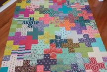 Tula pink fox field quilt