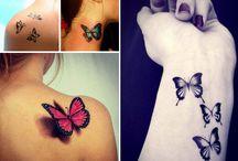 idee tatouage papillon / Photos de tatouages féminins sur le theme du papillon Toute la signification sur : http://tatouagefemme.eu/tatouage-papillon-femme/