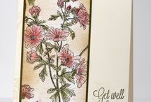 Penny Black Trailing Beauty Stamp