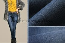 knitted denim fabric / supply fabrics