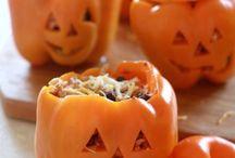 rice krispie treats pudding / Halloween