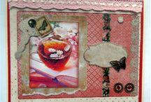 Mijn vrouwen kaarten / hier mijn kaarten gemaakt voor de vrouwen dank zij de Action voor hun mooie knip vellen en papieren