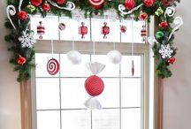 Новогоднии окна