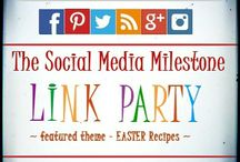 Link Up Parties - Share Recipes, Get Social & Be Featured / #linkparty #recipecollections #bloggerssocial