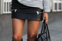 mini jupe style
