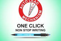 Mechanical Pencil / Range of mechanical pencils with auto mechanism