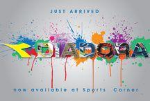 DIADORA / Now we have Diadora in our stores For more info, visit : www.scqatar.com