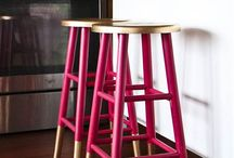 Perfect Pink Home Decor / Pink is not just for little girls!