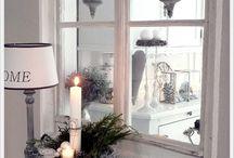 Fensterbank deko