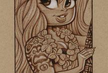 Tiki Art / My Tiki artwork