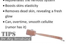 Dry brushing health benefits