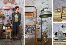 Trends & Trade | herfst 2016 - Urban Living / Stylist Marco heeft voor Trends & Trade een stoere trend gespot: 'urban living'; een trend waarin ruige materialen en natuurlijke kleuren de boventoon voeren.