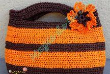 Sacs et pochettes / Sacs, sacoches, pochettes... fait main au crochet ou au tricot