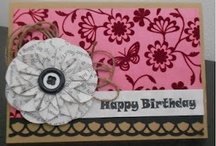 CARDS - birthday and general / by Paulette Klotz-Flavelle