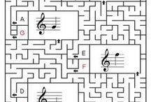 Musiikki Nuotit