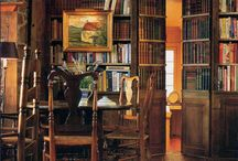 Books, library, home
