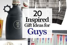 Inspired Gift Ideas for Guys / From gourmet eats to high-tech gear, these thoughtful finds are sure to suit dads, brothers, and husbands.