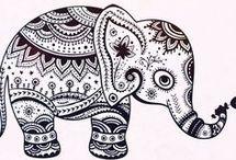 mandala elefant 2