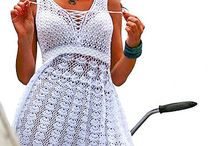 sukienki recz. robione
