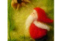 Filzen Märchenwolle