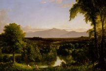 T Cole View on the Catskill—