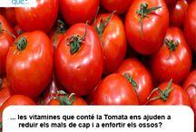 Tomàquet / Tomate  / Aquí trobaràs curiositats sobre el tomàquet  / Aquí encontrarás curiosidades sobre el tomate