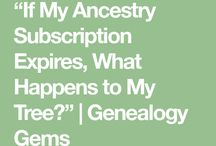 Ancestry when your time is up