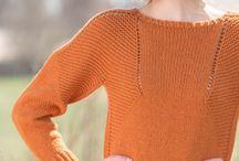 Knitting sweaters