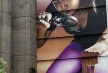 Graffiti - Street Art - Mural Painting