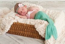 """Newborn photo props / Knitted toys by """"Bunnies Band"""""""