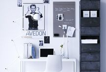 are you gonna be my room? / blacks, whites, greys, neutrals, wood.