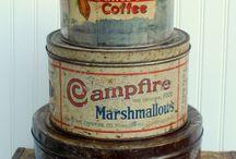 Vintage Tins of all sorts ....