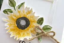 stamping up Sonnenblume