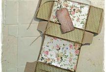 Dutch Doobadoo paper Art / DD materialen