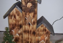 Bird Houses Decorative