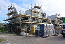 Steigerprojecten / Diverse bouwprojecten die mede mogelijk gemaakt worden met steigermateriaal geleverd door de AIC uit Harderwijk