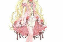 Kitaplar için anime karakterleri