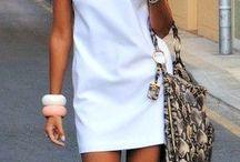 White dinner attire