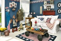 Home Decor / Americana, farmhouse, early american / by Becky Logan, Retired Housewife