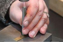 Metal jewelry stamping
