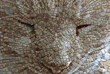 rostros mosaico